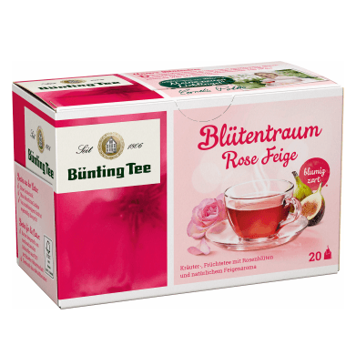 Bünting Tee Blütentraum Rose Feige