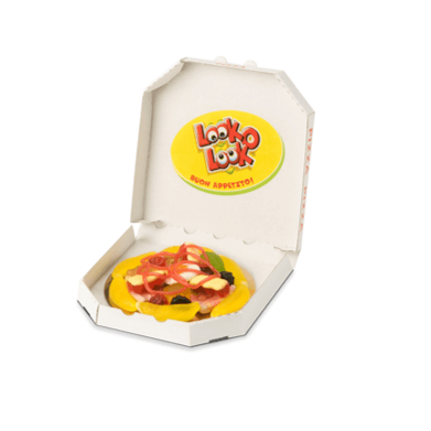 LOOK-O-LOOK Mini-Candy-Pizza
