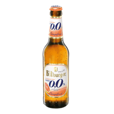 Bitburger Bitburger 0,0% Grapefruit