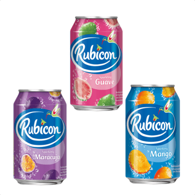 RUBICON Sparkling drinks
