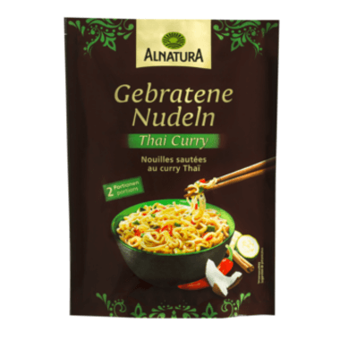 ALNATURA Gebratene Nudeln Thai Curry