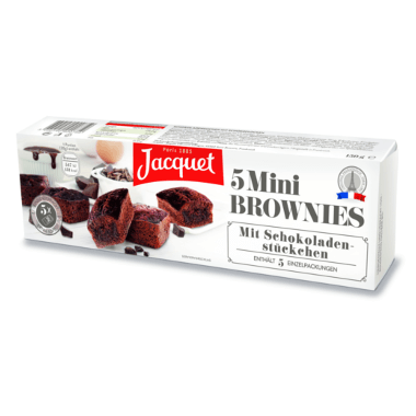Jacquet Mini Brownies