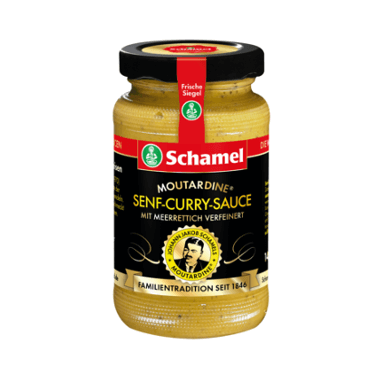 Schamel Senf-Curry-Sauce
