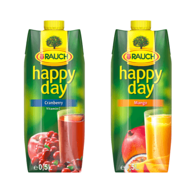 HAPPY DAY Mango & Cranberry