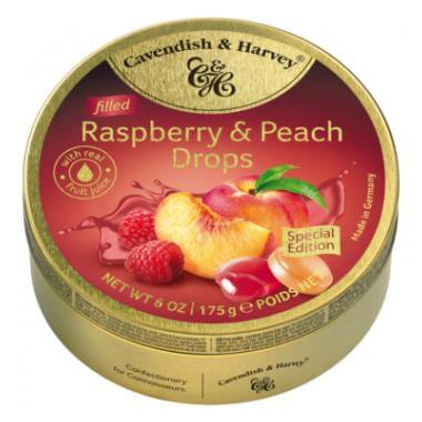 Cavendish & Harvey C&H Raspberry & Peach Drops