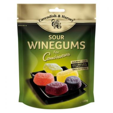 Cavendish & Harvey Sour Winegums for Connoisseurs