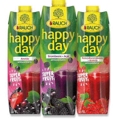 RAUCH Happy Day Happy Day Superfruits Aronia
