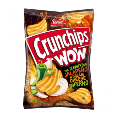 Crunchips WOW Crunchips WOW Jalapeño & Cream Cheese