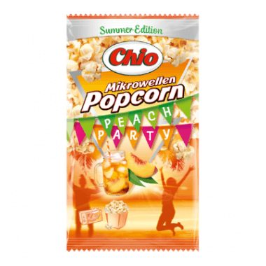 Chio Chio Mikrowellen Popcorn Peach Party