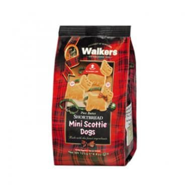 Walkers Mini Shortbread Scottie Dogs Snack Pack