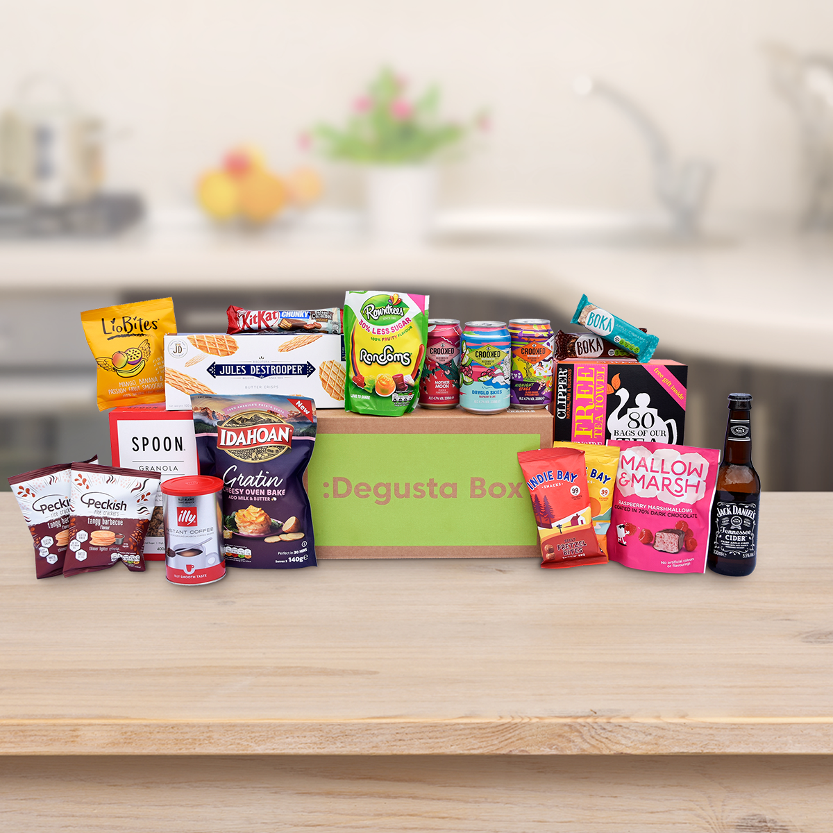 Degusta Box » Your monthly surprise food box!