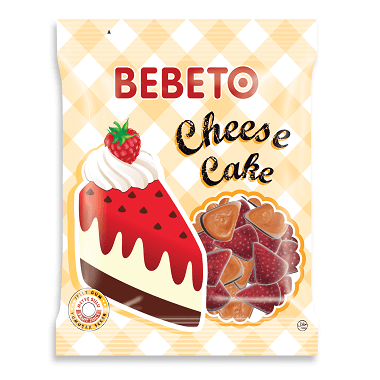 Bebeto  Cheese Cake Gummies