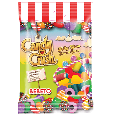 Bebeto Candy Crush Gummy Mix