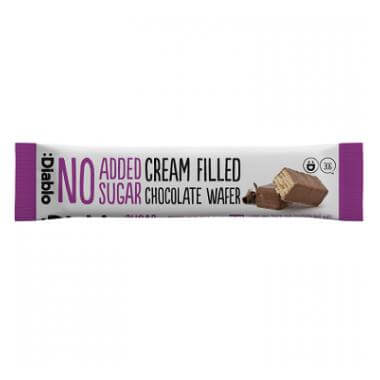 Diablo Sugar Free Cream Filled Chocolate Wafer