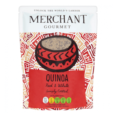 Merchant Gourmet Merchant Gourmet Simply Cooked Red & White Quinoa