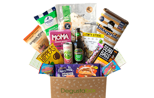 Degusta Box Your Monthly Surprise Food Box
