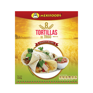 MEXIFOODS Tortillas de Trigo