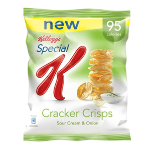 Kellogg's Special K Cracker Crisps Sour Cream Onion