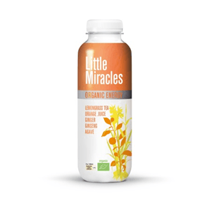 Little Miracles Organic Energy Lemon Grass