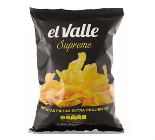 SNACKS EL VALLE Patatas Supreme 140g.