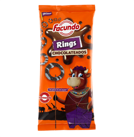 FACUNDO Rings Chocolateados