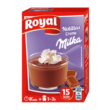 Royal Natillas Creme Milka
