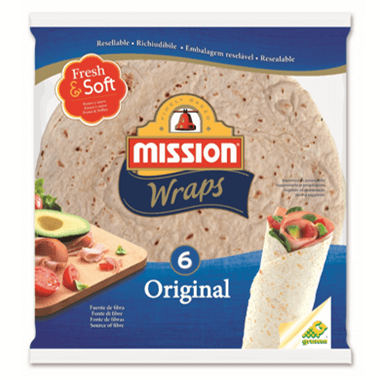 Mission Foods Mission Wraps Orginal