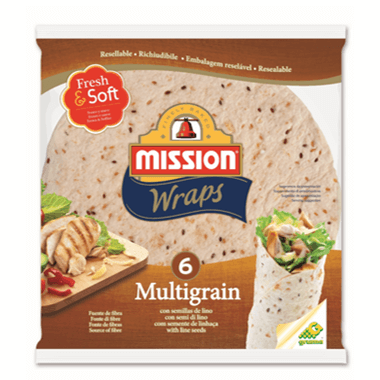 Mission Foods Mission Wraps Multigrain