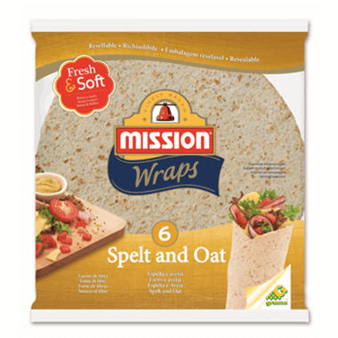 Mission Foods Wraps Spelt and Oats
