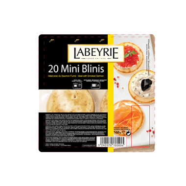 Labeyrie Mini Blinis