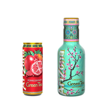 Arizona Iced Tea - 2 variedades