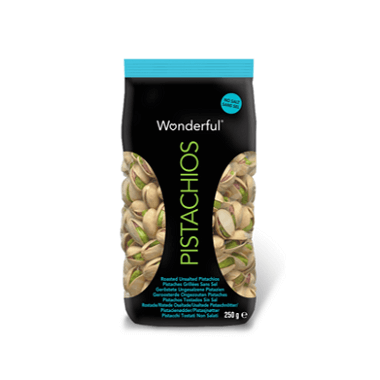 Wonderful Pistachos Tostados Sin Sal
