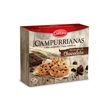 Campurrianas Campurrianas con trocitos de chocolate