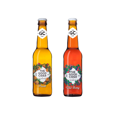 The Good Cider Peach & Wild Berry