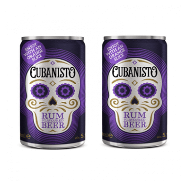 Cubanisto Rum Flavored Beer Mini Lata 15cl
