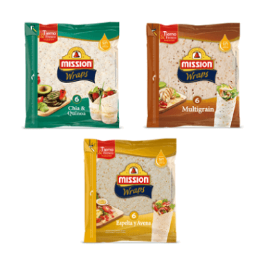 Mission Foods Wraps Multigrain | Espelta | Chia