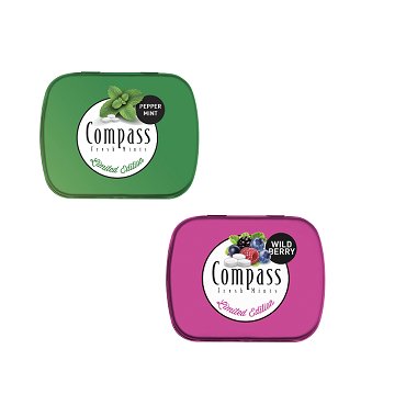 Powermints Compass Peppermint | Wildberry