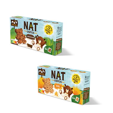 Nestlé NAT Ositos Chocolate | Miel