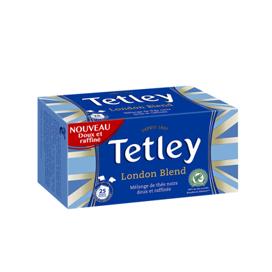 Tetley Thé Noir London Blend