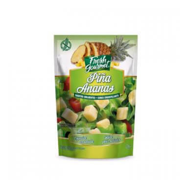 Fresh gourmet Croutons de fruits ananas