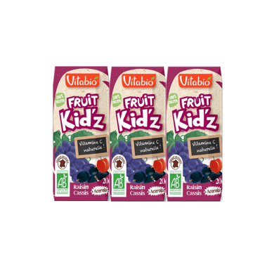 Vitabio Fruit Kid'z Raisin Cassis