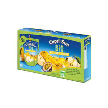 Capri Sun Capri-Sun Bio Multi Fruits Yellow