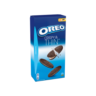 Oreo Crispy and Thin