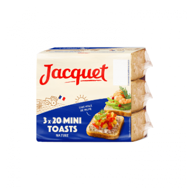 Jacquet Mini toasts nature