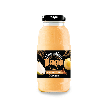 Pago Smoothie Pomme, Poire & Cannelle