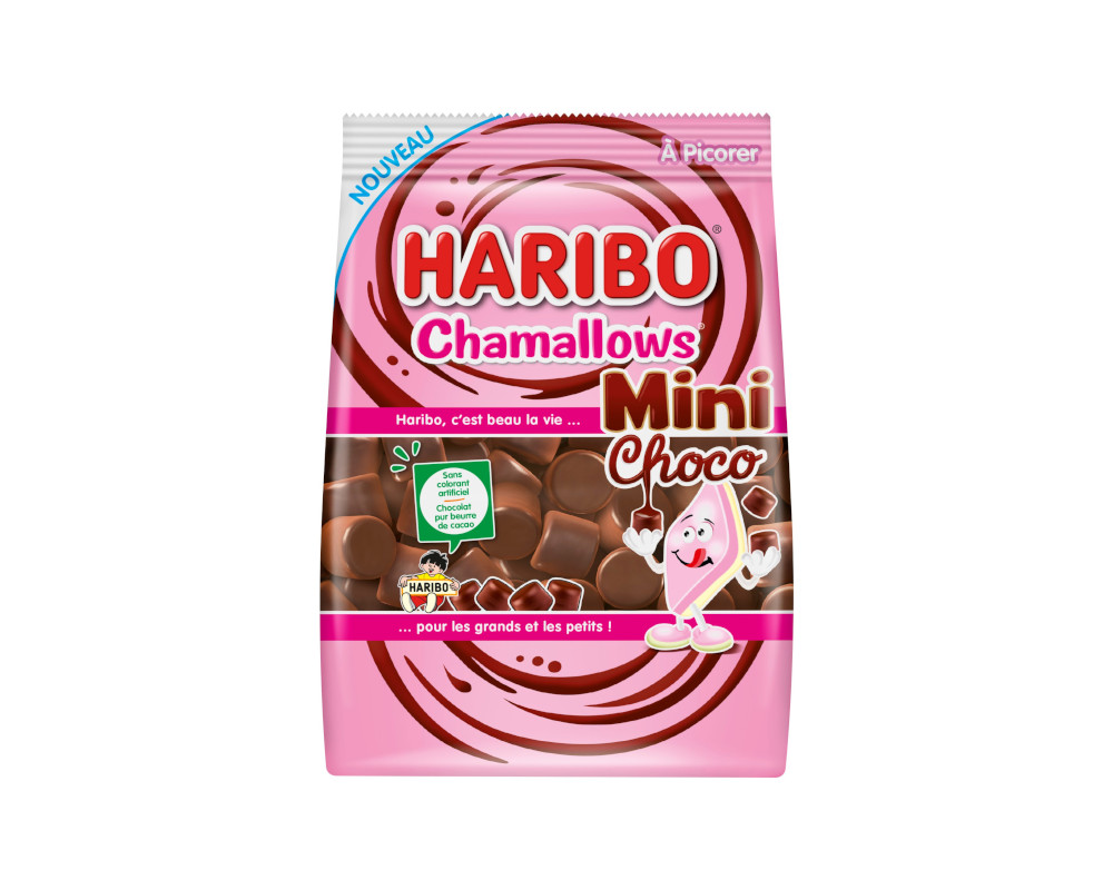Haribo Mini Chamallows Choco