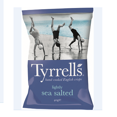 Tyrrells Chips Lightly Salted