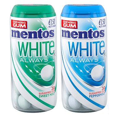 Mentos Mentos White Always