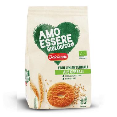 Amo Essere Biologico (Eurospin) Frollini Integrali ai 5 cereali
