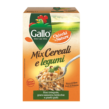 Riso Gallo Mix Cereali e legumi